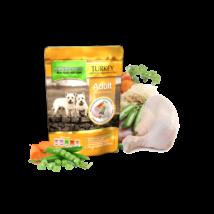 Pulykahúsos, csirkehúsos menü 0,3kg
