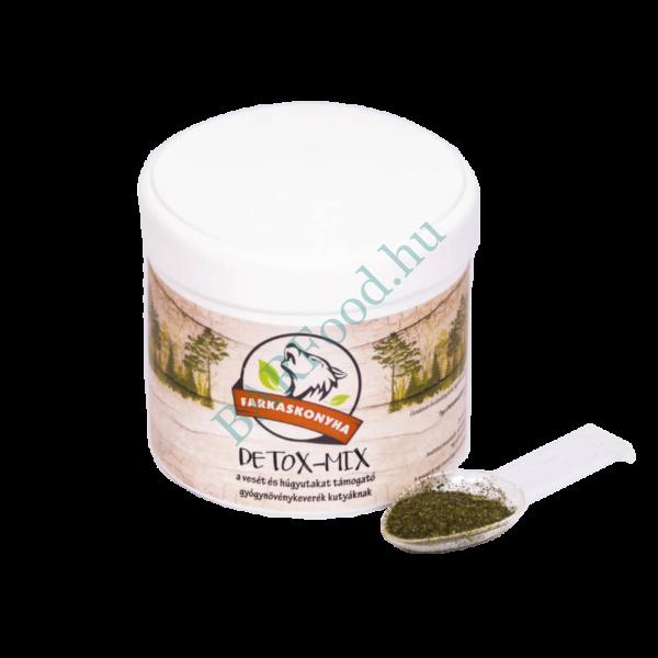 Detox-Mix vesét és húgyutakat támogató gyógynövénykeverék 125g