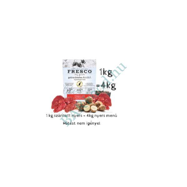 Fresco fagyasztva szárított Nyers Hipoallergén Menü – Kenguru 1kg
