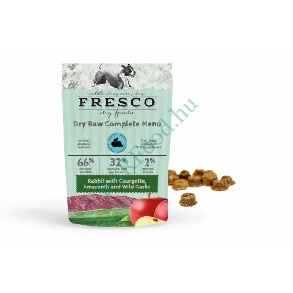 Fresco fagyasztva szárított Nyers Hipoallergén Menü – Nyúl 1kg